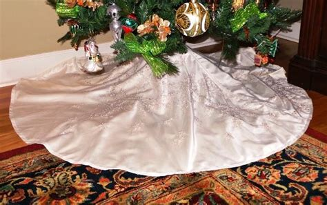 wedding dress tree skirt