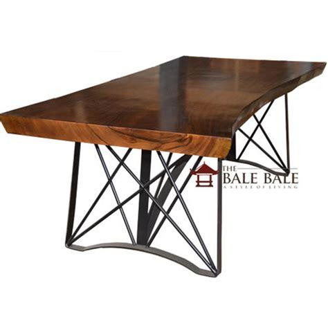 Meja Makan Kayu Jati Utuh meja makan minimalis kayu utuh mmj 006 mebel jati minimalis mebel jati jepara mebel