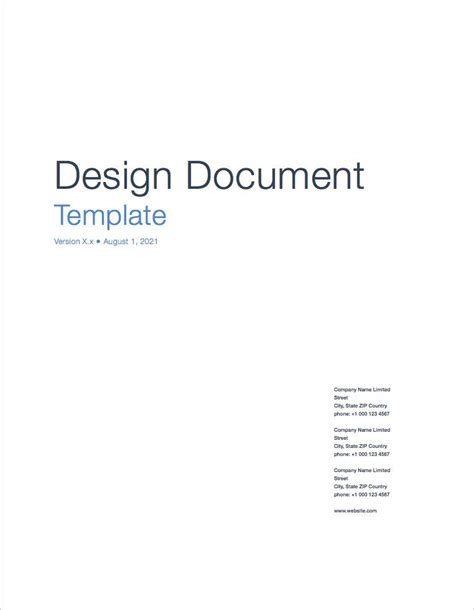 design document apple iwork pages numbers