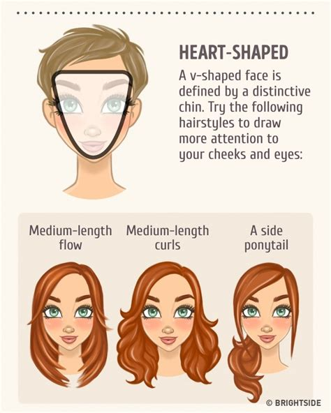 how to match hair style with face shape how to choose the best hairstyle to match your face