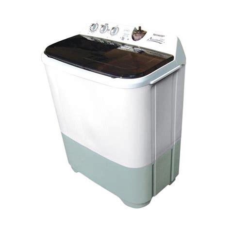 Mesin Cuci Sharp Yang Baru jual sharp es t96cl hk mesin cuci harga