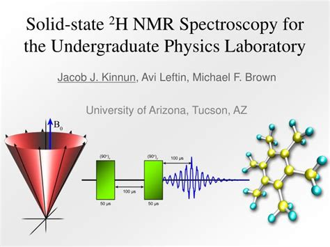 nmr tutorial powerpoint ppt solid state 2 h nmr spectroscopy for the