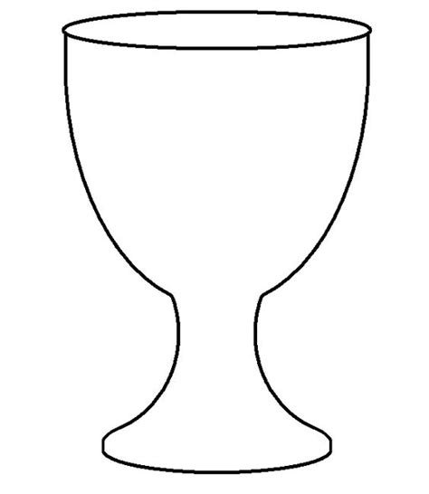 chalice template christian symbols for chrsmon patterns