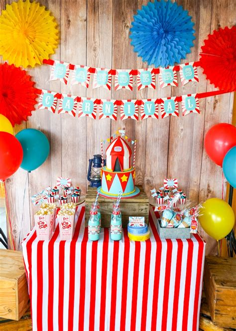 carnival themes ideas kara s party ideas backyard carnival party kara s party