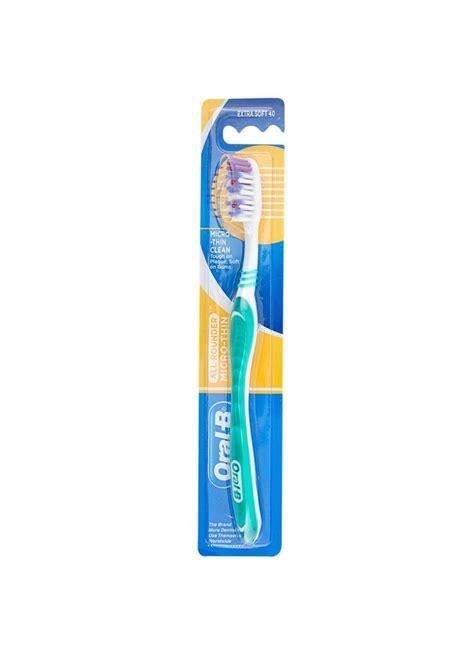 Sikat Gigi B Shiny Clean b sikat gigi micro thin clean soft 40 pcs klikindomaret