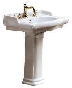 pedestal sink magica classic ceramic pedestal bathroom sink sinks gallery