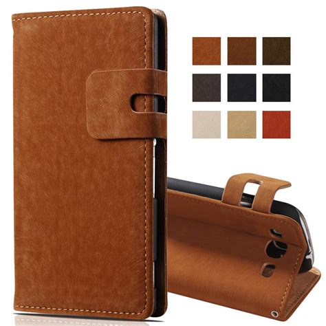 Softcase Wallet Flip Samsung S5280 luxury soft pu leather for samsung galaxy s3 i9300 wallet flip stand phone back cove for
