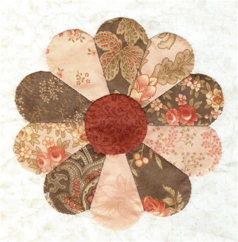 Dresden Patchwork - dresden plate motivos de patchwork que me gustan