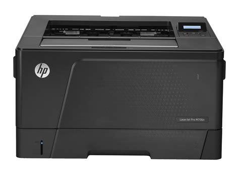 Printer Laser A3 Plus hp laserjet pro m706 sfp series a3 size b6s02a
