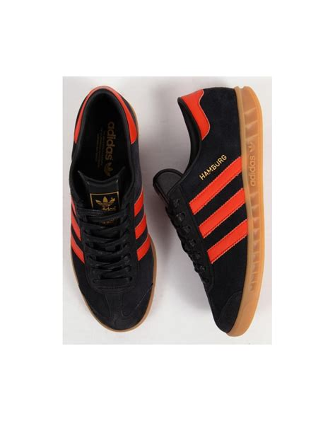 Adidas Orange Black adidas beckenbauer trainers black orange adidou