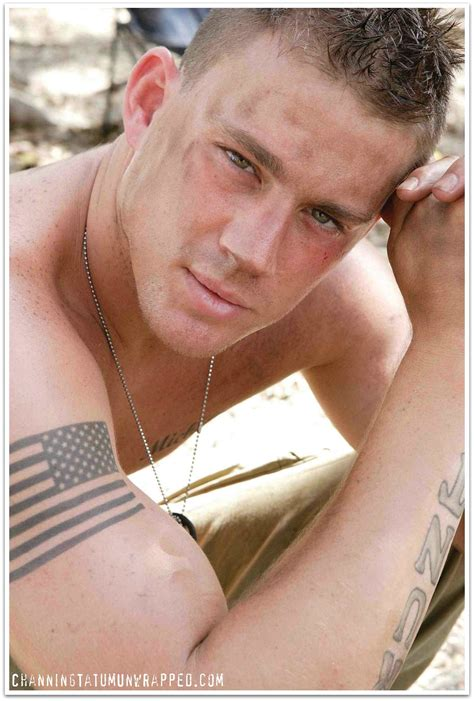 As Seen On Tv Watch Channing Tatum In Stop Loss On Fx Channing Tatum Tattoos Real