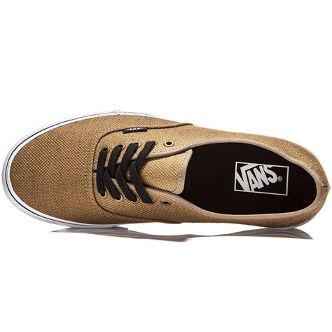 Vans Authentic Jute Walnut Black vans original authentic shoes