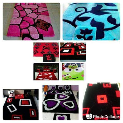 Karpet Karakter Empuk jual karpet karakter set 2bantal 1 keset iqbal