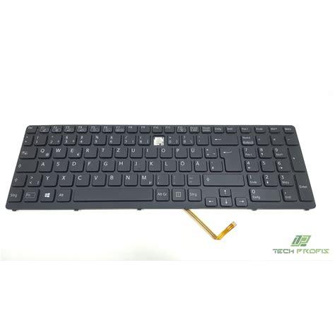 sony vaio tastatur ersatztasten sve151 series tech profis shop