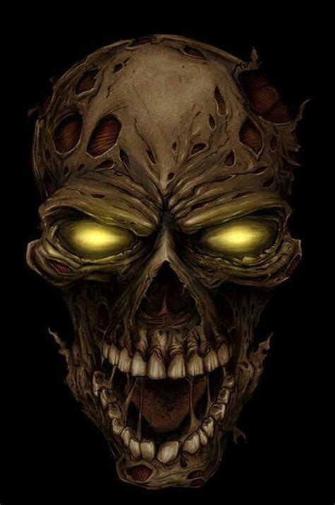 design art zombie 17 best images about skulls and bones on pinterest skull