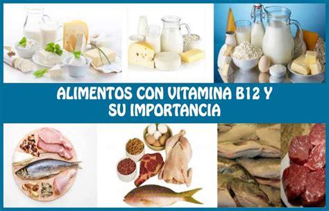 alimentos vitamina b 12 alimentos ricos en vitamina b12 o cobalamina su
