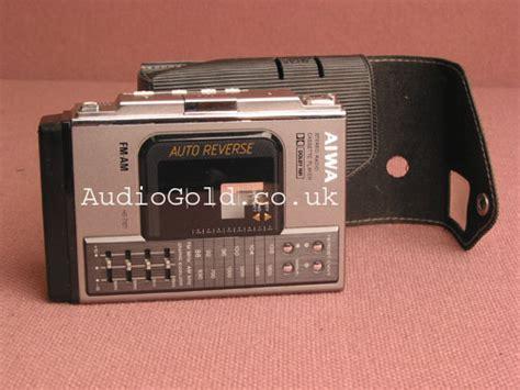 aiwa cassette player aiwa hs t101 audio gold