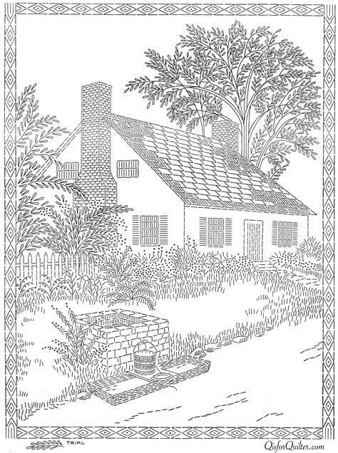 coloring books country cottage backyard gardens 2 40 grayscale coloring pages of country cottages cottages gardens flowers and more books transfer 5646 cottage 1 q is for quilter