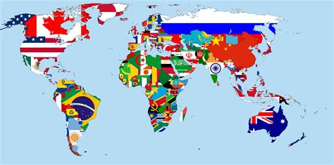 world map with countries flag a cool world map with flags worldwide pinterest flags
