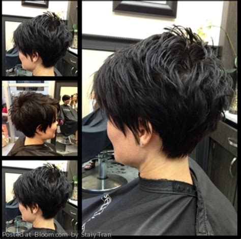 bi layer haircuts over the ears 1000 ideas about short razor haircuts on pinterest