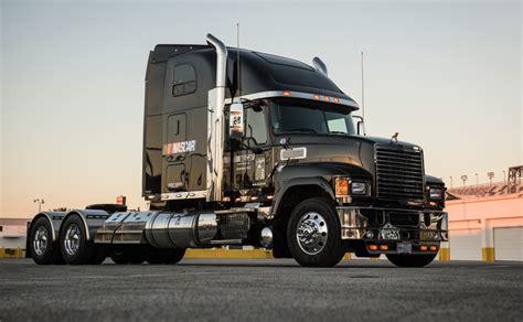 mack trucks nascar fan truckers voices heard in mack deal nascar
