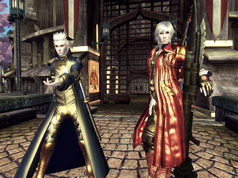 mod the sims dante devil may cry 4 dmc4 dante and vergil clothes at oblivion nexus mods and