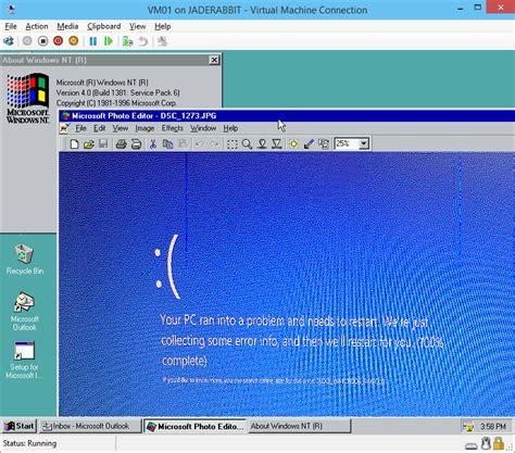 hyper v console windows 7 windows 2000 with virtualization