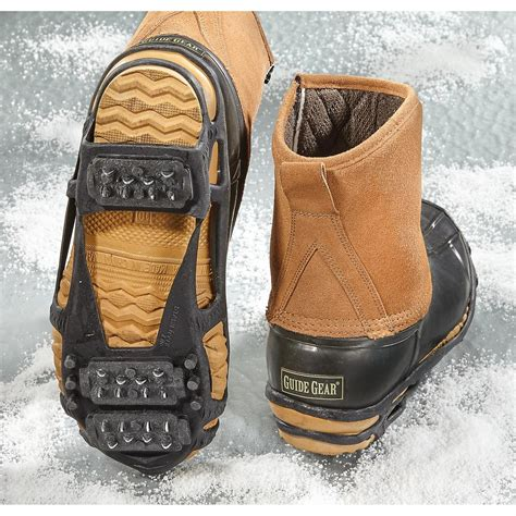 boat shoe cleats stabilicers walk ice cleats 106310 boot shoe