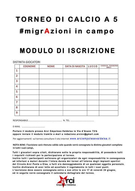 modulo iscrizione ufficio di collocamento italiani e stranieri per le migrazioni in co ritorna