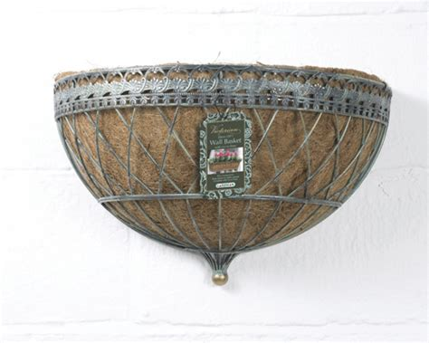 wall baskets for garden uk garden supplies wall basket