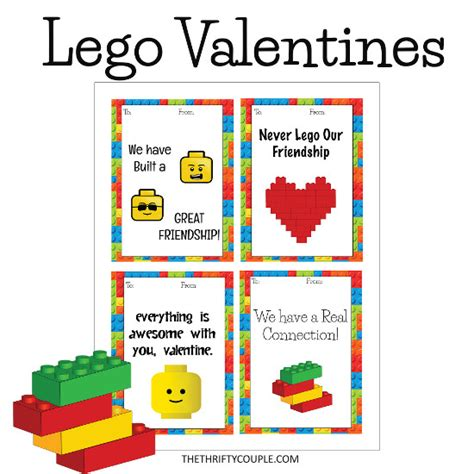 printable valentines for boys lego themed valentines printable cards