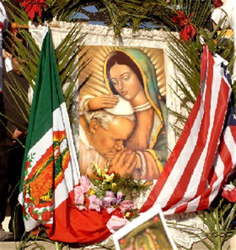 imagen virgen de guadalupe y juan pablo ii oraci 211 n del papa juan pablo ii a la virgen de guadalupe