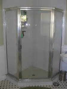how to install corner shower allow enough room when installing a corner shower