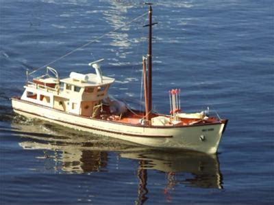 model boat building from scratch scratch built trawler