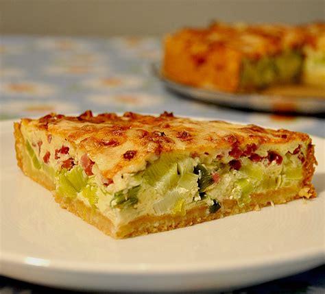 Deftiger Zwiebel Lauch Kuchen Rezept Mit Bild