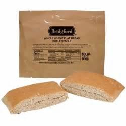 mre whole wheat sandwich bread fsr bridgford