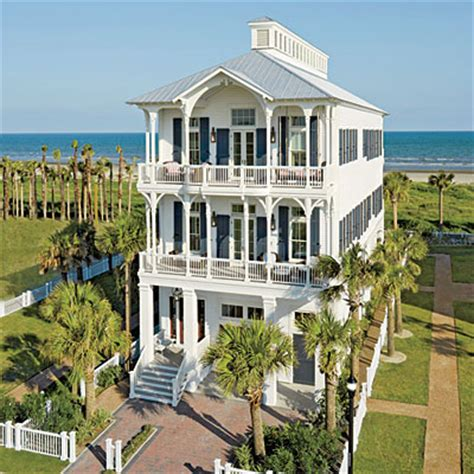 homes in galveston tx tough materials for coastal climates coastal living