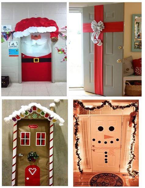 decorar puertas de navidad ideas para decorar puertas en navidad patrones gratis