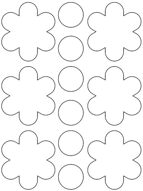 printable flowers pattern flower pattern for kids az coloring pages