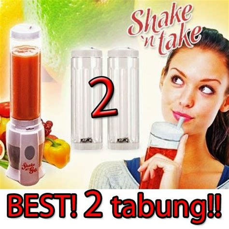 Shake And Take Shake And Go 2 Botol shake n take 2 tabung botol healthy shaker botol jus