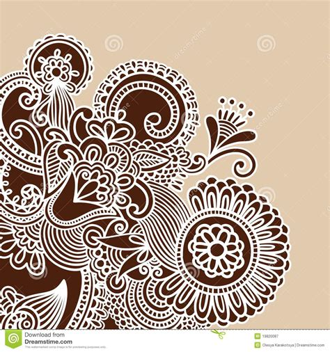 alfred doodle vector free henna doodle vector illustration stock vector