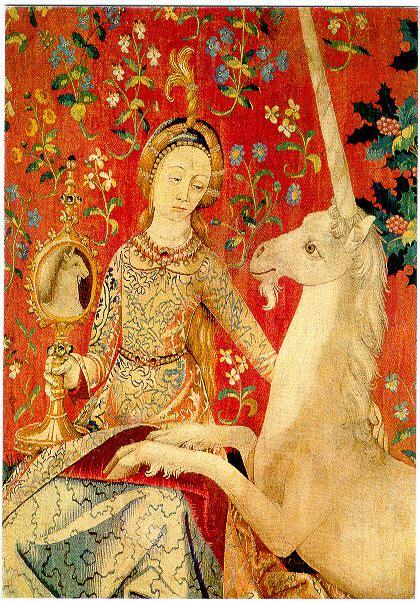La Dame à La Licorne Tapisserie by Licorne
