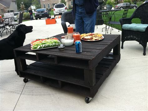 Pallet Patio Table Pallet Tables Interior Home Design Home Decorating