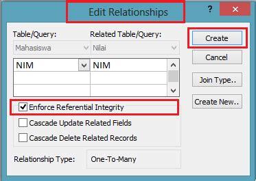 cara membuat query relationship cara membuat relationships pada microsoft access sul ilmu
