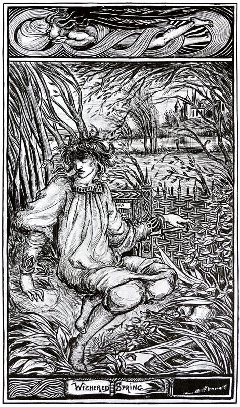withered spring aubrey beardsley wikiartorg