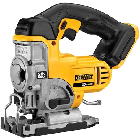 dewalt 20 volt max lithium ion cordless jig saw tool only