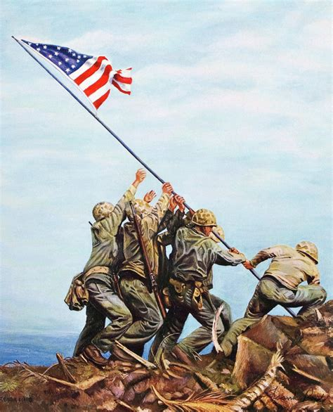 raise the siege iwo jima flag raising wallpapers wallpaper cave