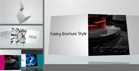 Brochure Templates Videohive | after effects project files folding brochure videohive
