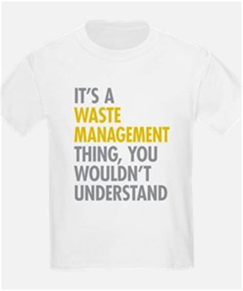 T Shirt Waste waste management kid s clothing waste management kid s