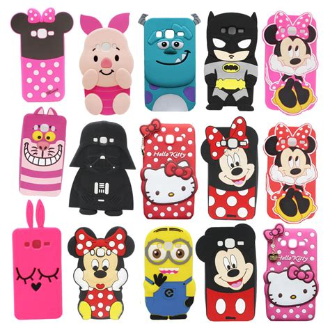 Samsung J5 3d Silicone Mickey Minnie Mouse Cover Casing Bumper popular minnie mickey mouse buy cheap minnie mickey mouse